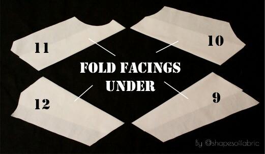folding facings