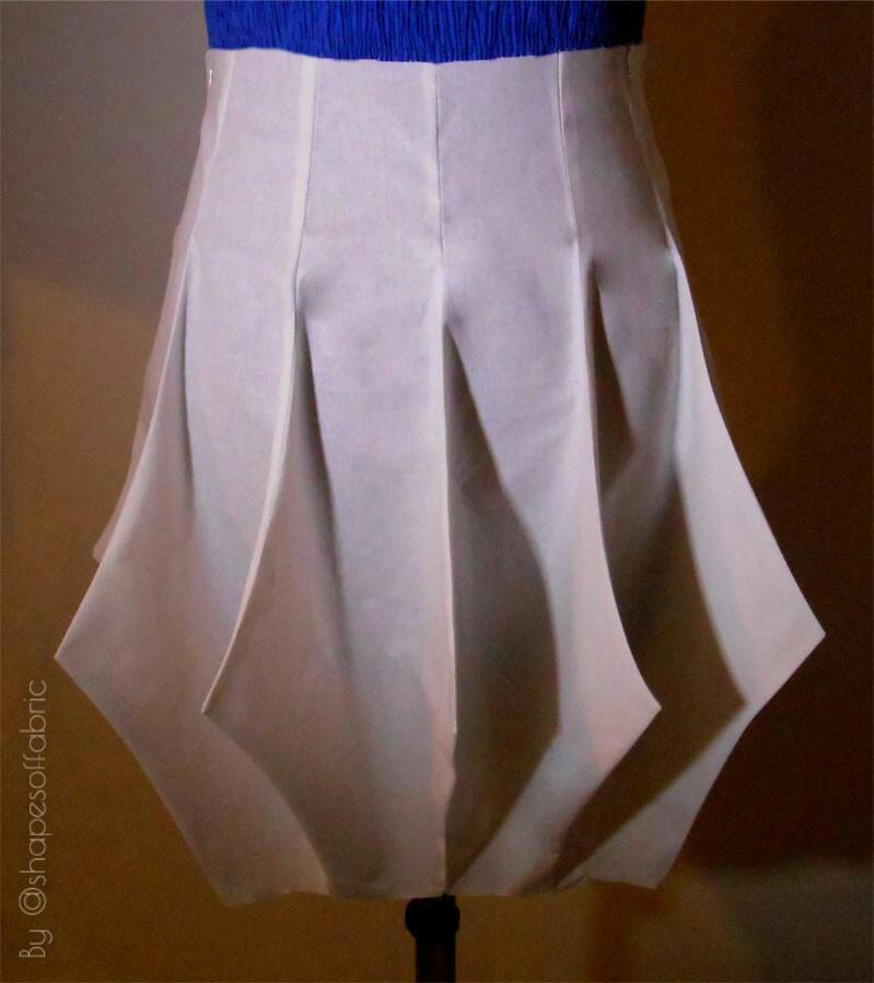 spiky skirt