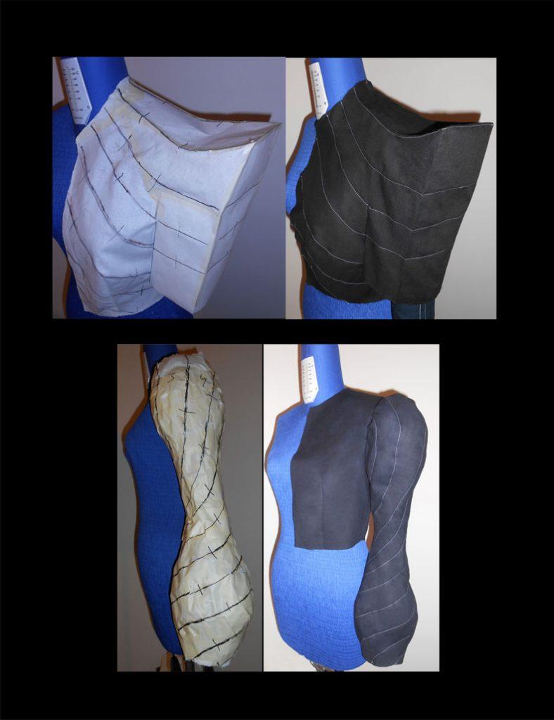 sculptural sleeves