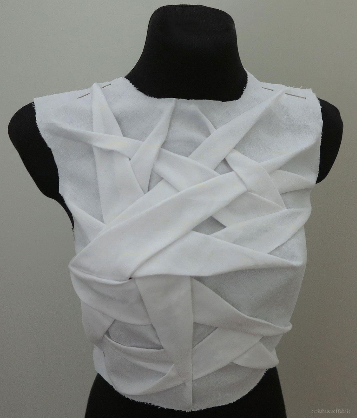 origami bodice