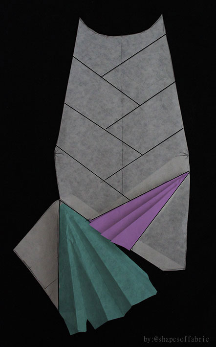second petal folded