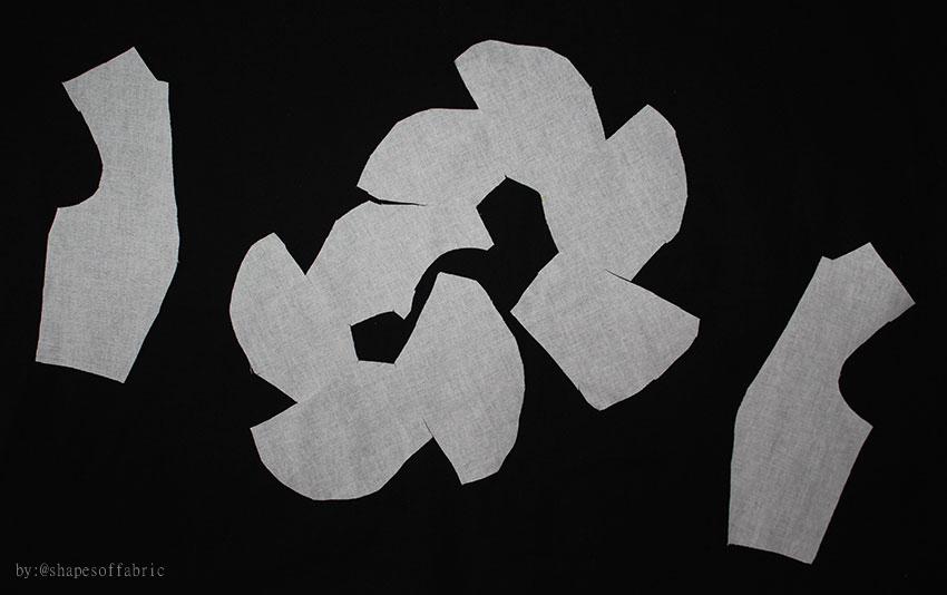 cut in fabric