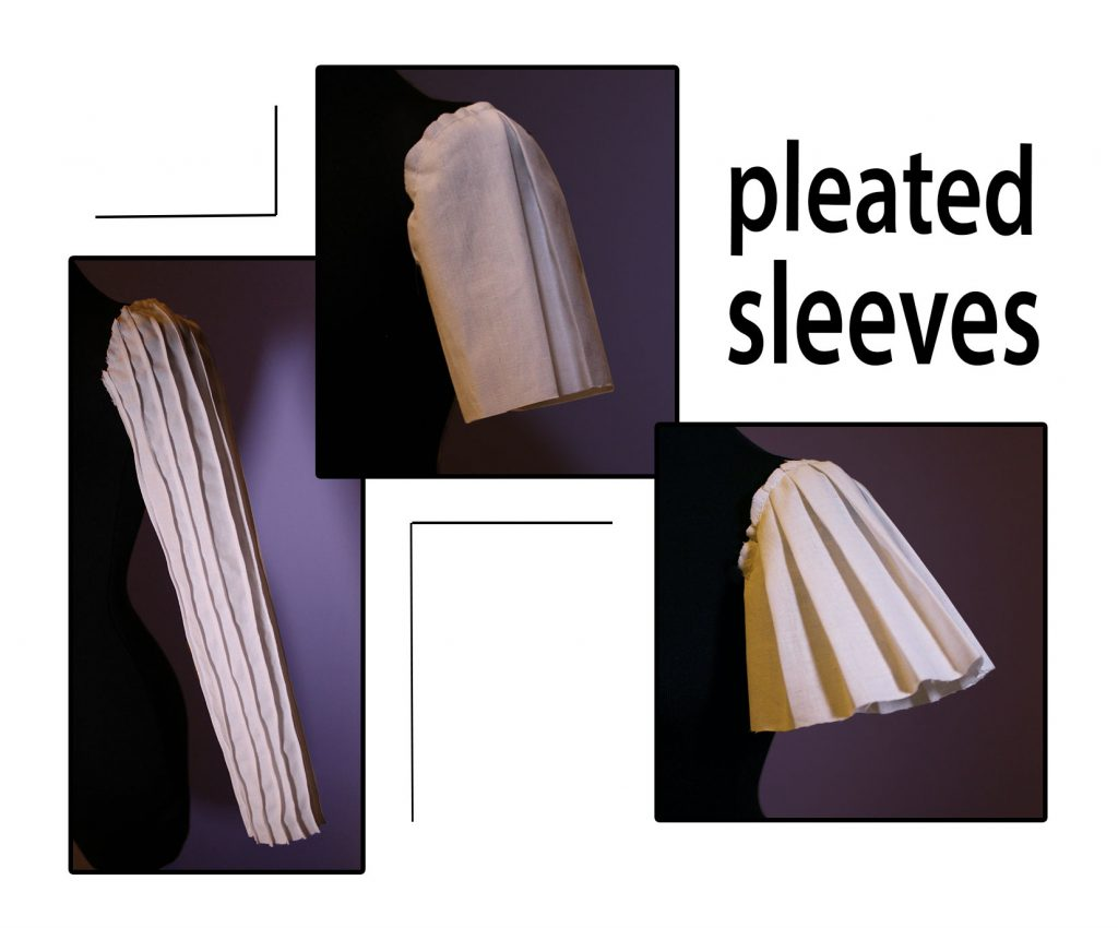 how to draft pleated sleeve patterns