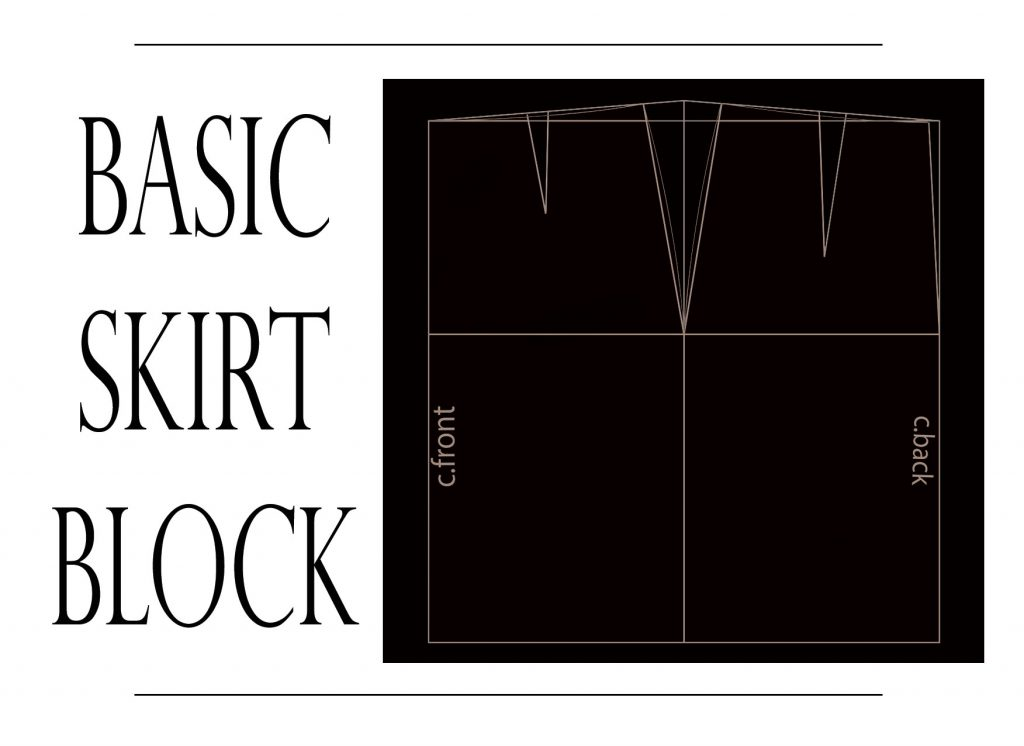 basic skirt pattern tutorial