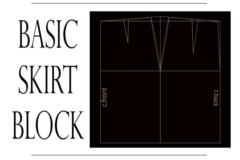 basic skirt pattern tutorial