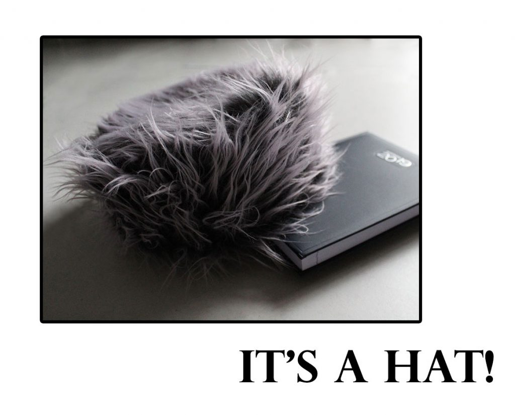how to sew a faux fur hat