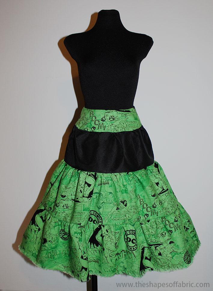 comics gypsy skirt