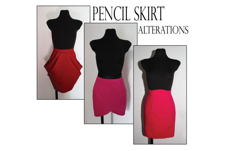 pencil skirt pattern alterations