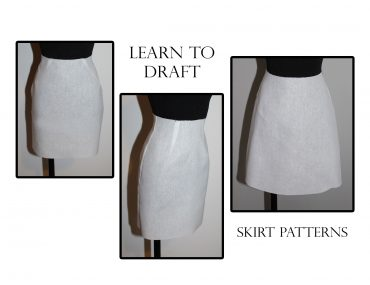 Simple skirt pattern alterations