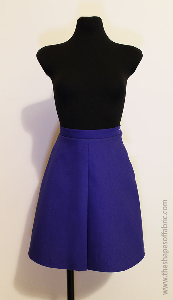 004f531f0 Discover how to draft flared and pleated skirts - The Shapes of Fabric