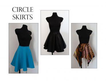 Conquer circle skirt patterns