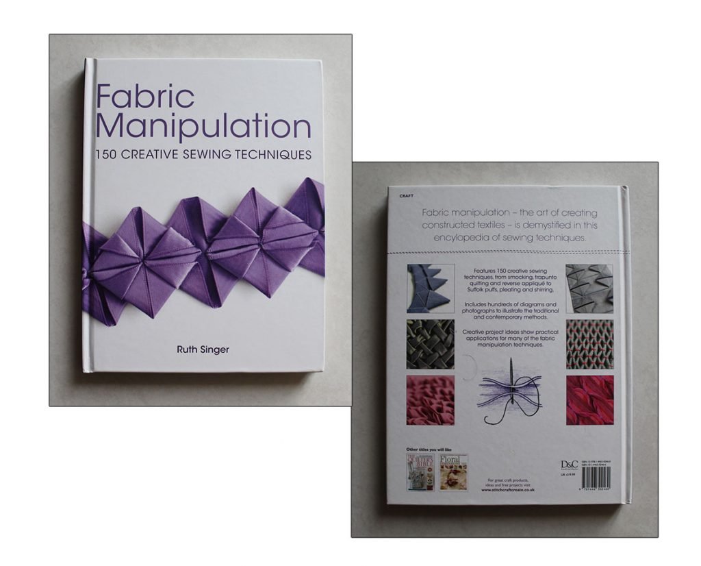 Fabric Manipulation by Ruth Singer cover