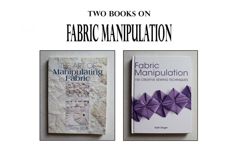 fabric manipulation books