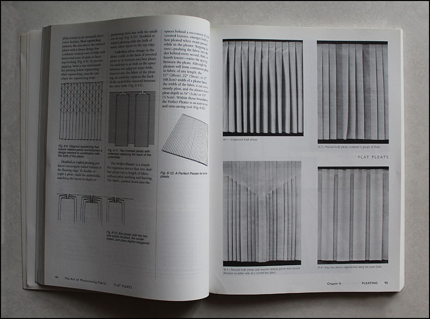 Pleats from Art of Manipulating fabric