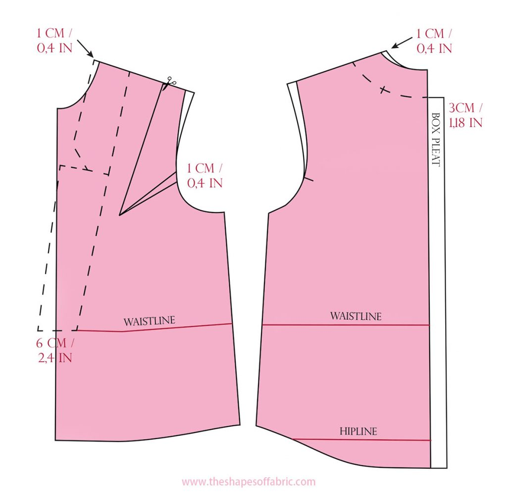 shirt pattern base