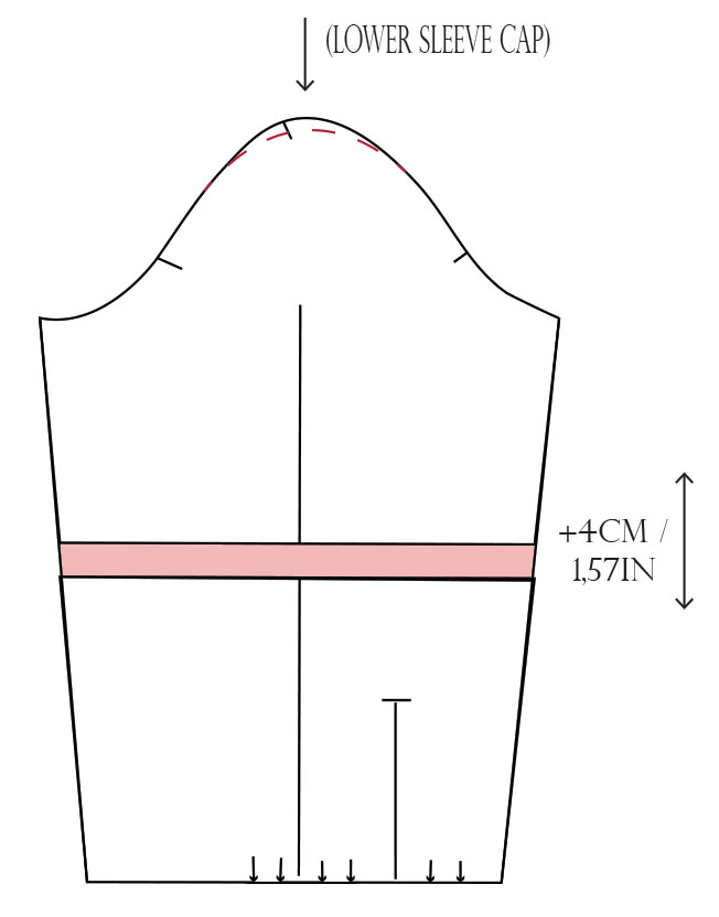 shirt sleeve pattern corrections