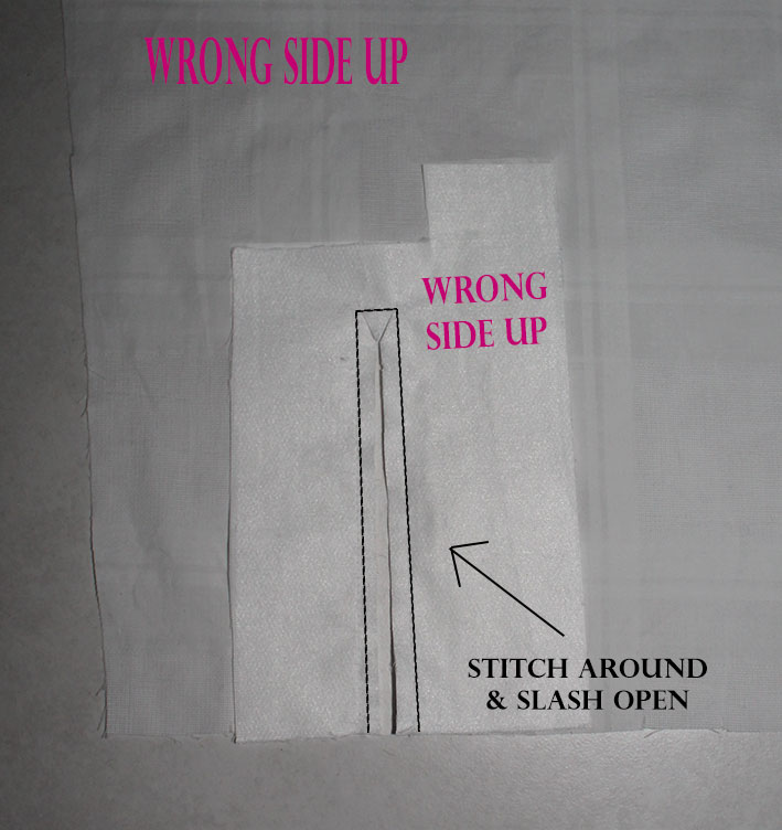 sewing sleeve placket