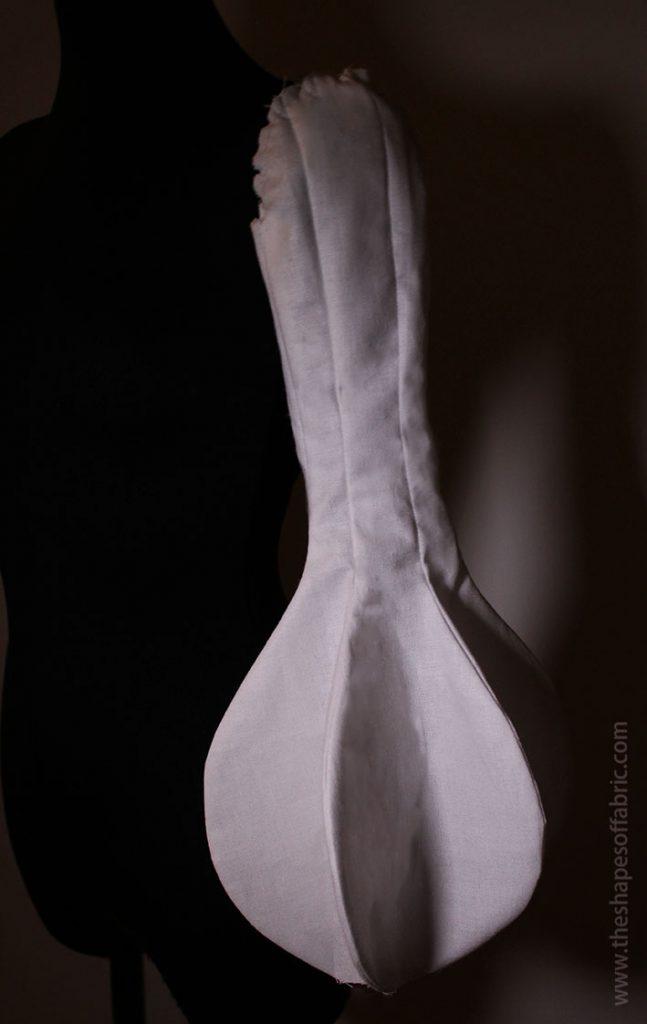 Long sculptural panel sleeve