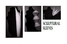 sculptural sleeve patterns