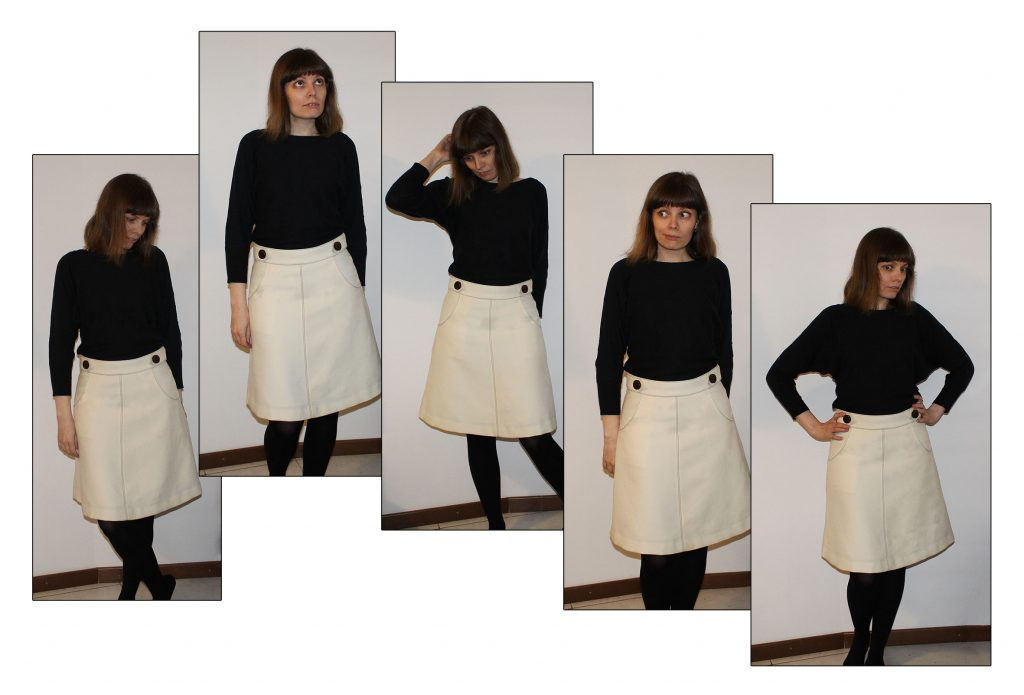panel skirt sequence