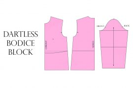dartless bodice block tutorial