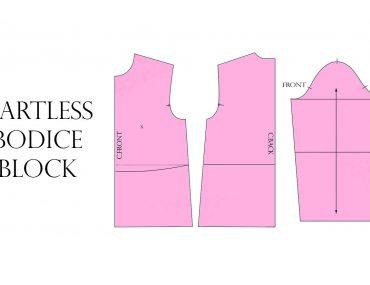 Draft your own Dartless Bodice Block
